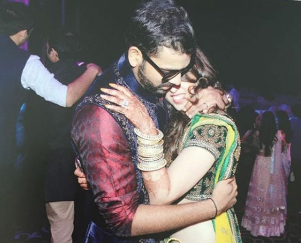 Rohit Sharma's Wife Ritika Sajdeh Is Romantic And Cute