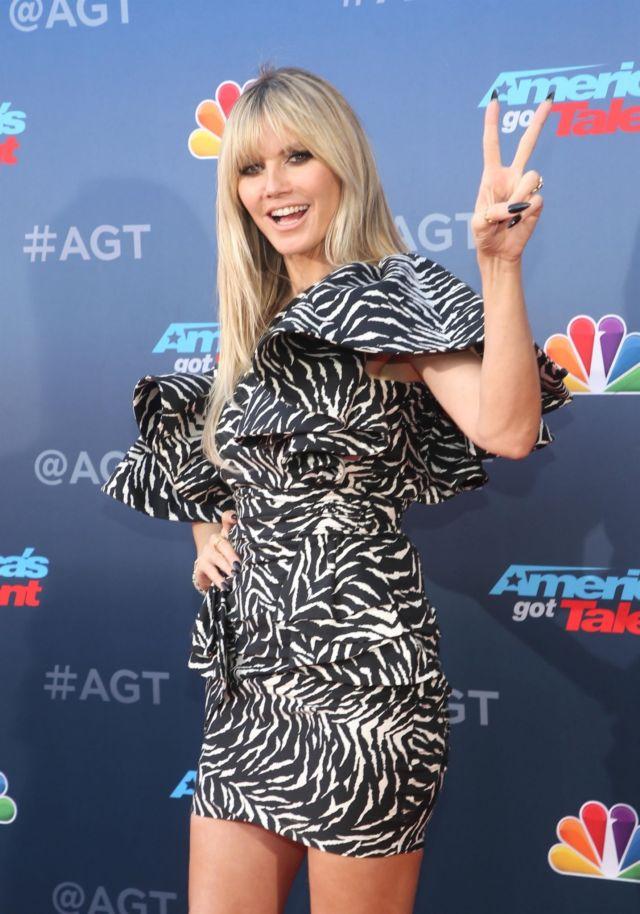 Heidi Klum At 'America's Got Talent' Season 15 Kickoff Event In Pasadena