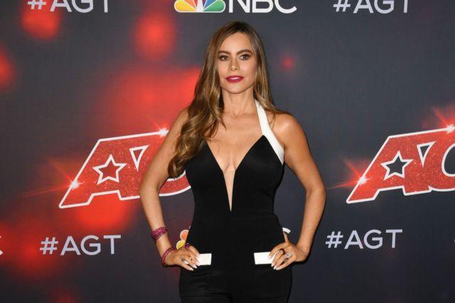 Gorgeous Sofia Vergara At 'America's Got Talent' Season 16 Live Show
