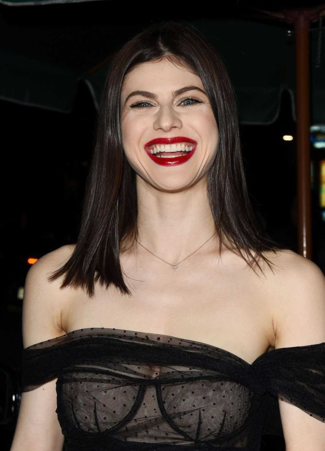 Baywatch Actress Alexandra Daddario Attends The Dior Launch Party