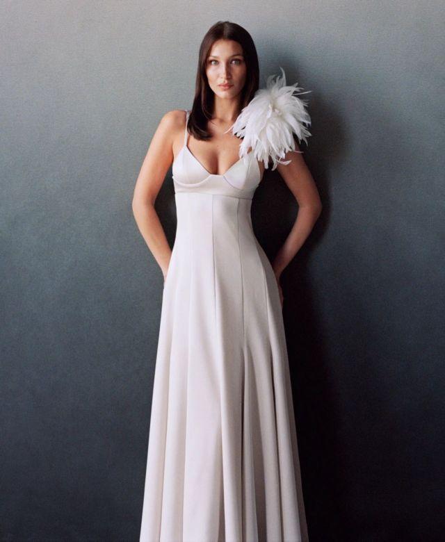 Bella Hadid Glams Up Vogue US
