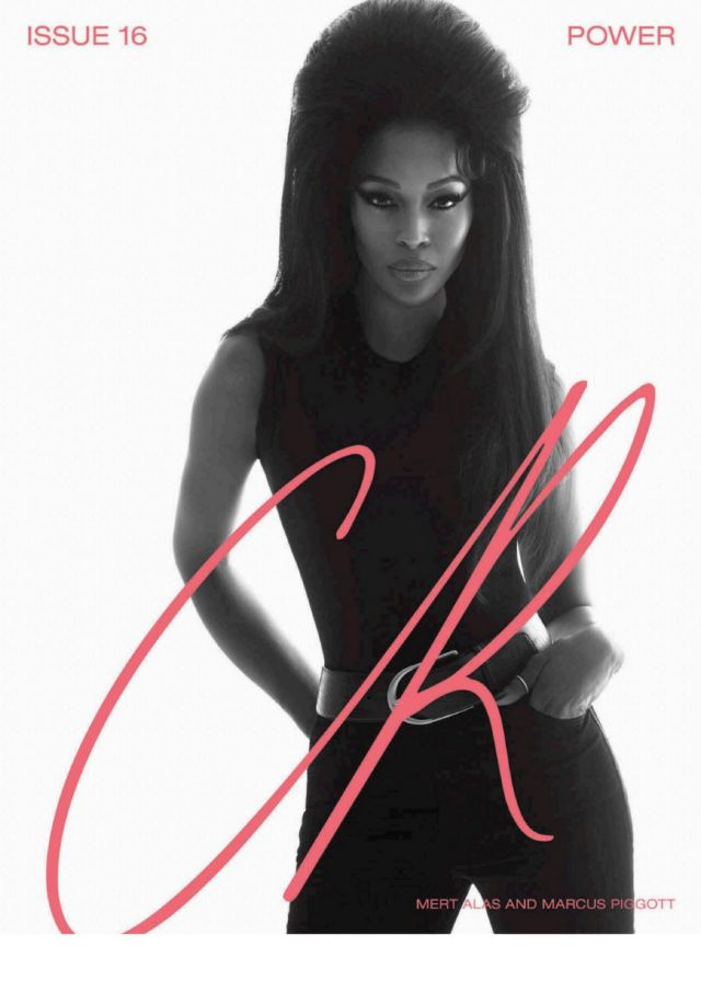 Naomi Campbell Shoots For CR Fashion Book Spring Summer 2020