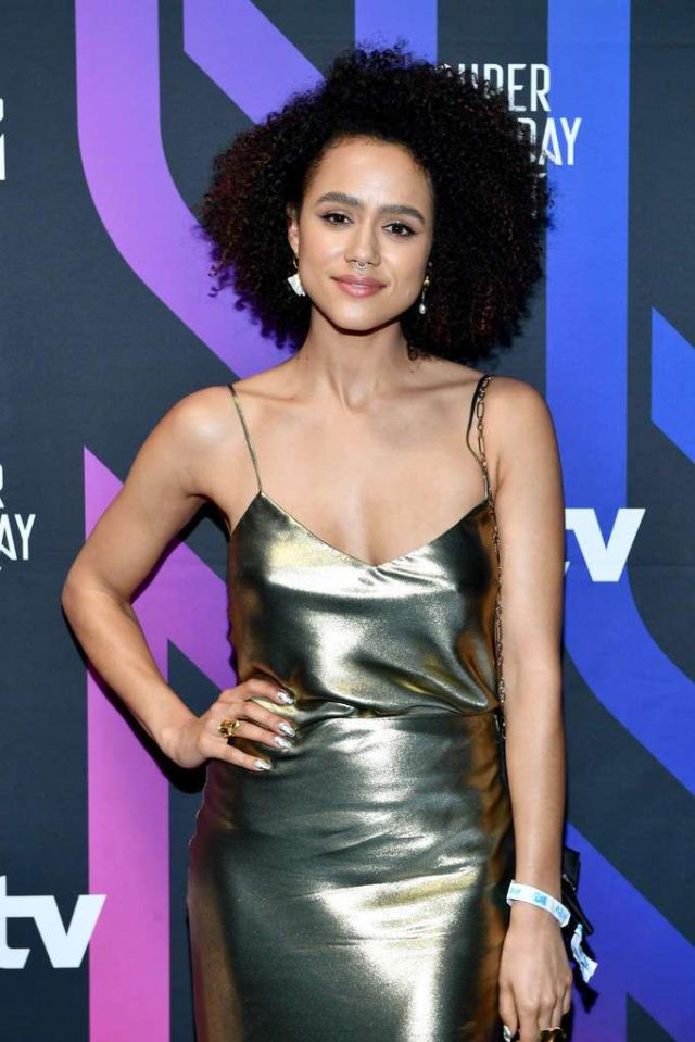 Nathalie Emmanuel Attends AT&T Super Saturday Night Party In Miami