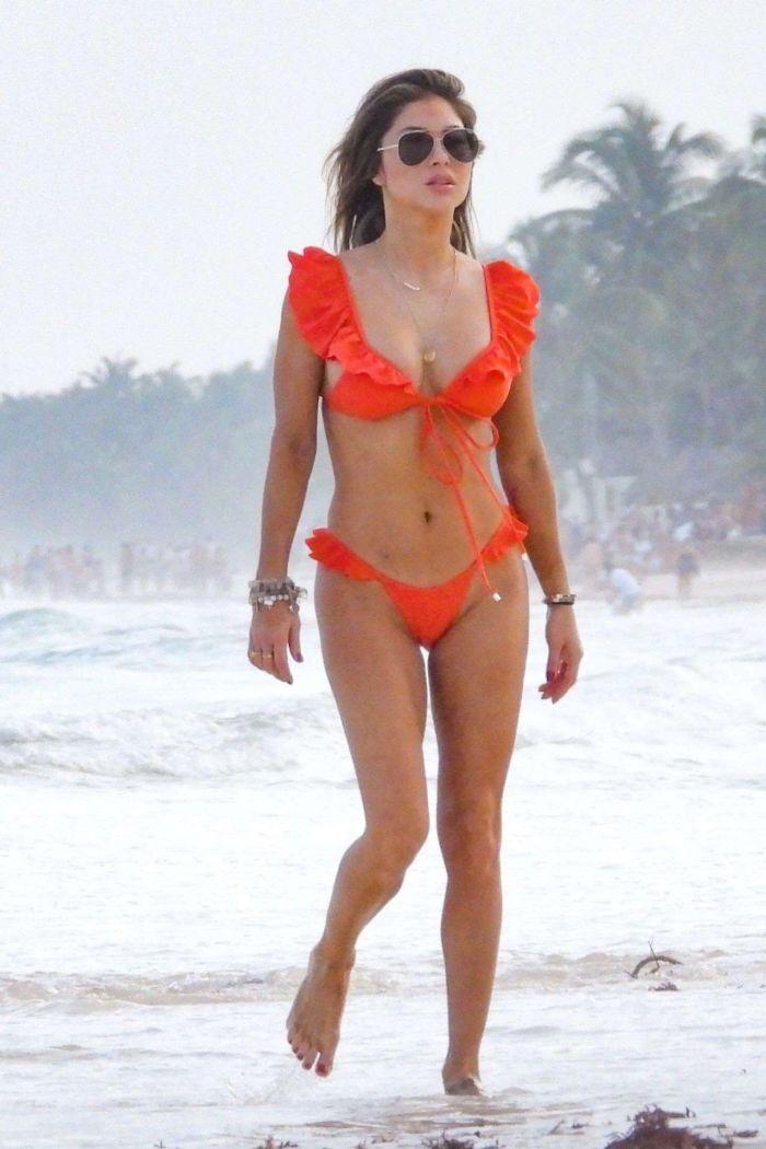 Arianny Celeste's Exclusive Bikini Photoshoot On The Beach In Tulum