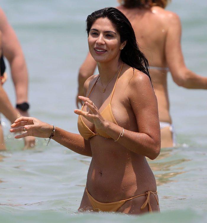 Pia Miller Enjoys Bikini Vacation On Bondi Beach In Sydney